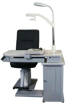 China Refraction Chair Unit OUYA-660 Ophthalmic Chair Unit